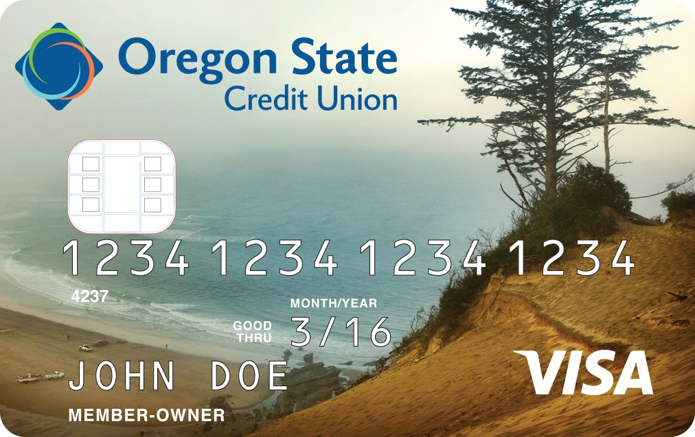 Coast view Visa Value credit card