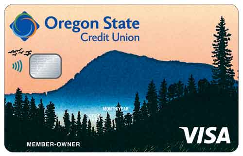 Marys Peak Visa Value credit card