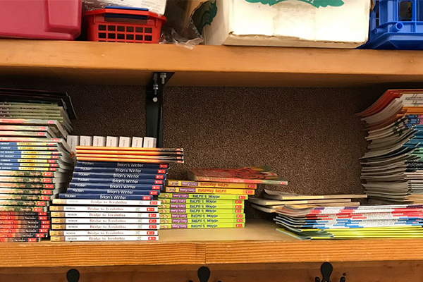 Eddyville Charter reading books education grant
