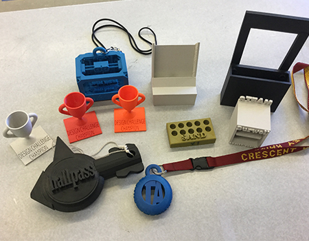 Cheldelin school 3D printer education grant